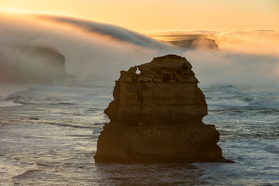 Foggy Sunrise, Twelve Apostles, Great Ocean Road, Australia