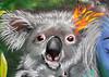 Koala street art