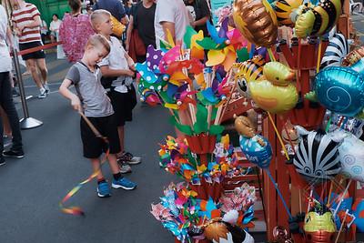 Australia, Melbourne, Night Market, Queen Victoria Market, Street Market, boy, toys