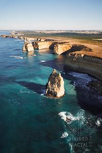 Australia, Melbourne, Great Ocean Road, 12 Apostles, Aerial