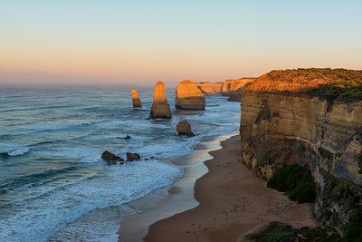 Twelve Apostles at Sunrise, Great Ocean Road, Australia
