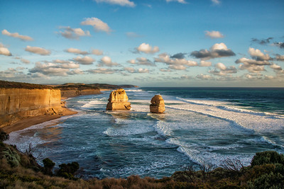 Eastern view of the Twelve Apostles, Great Ocean Road, Australia
