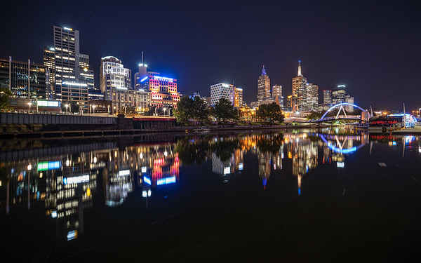 Melbourne Reflection