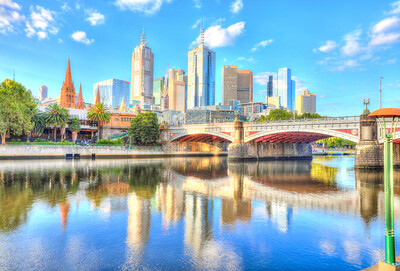 A Sunny Afternoon in Melbourne, Australia