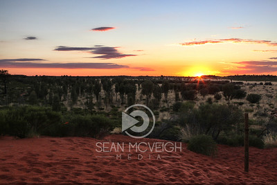 The Outback at Sunrise