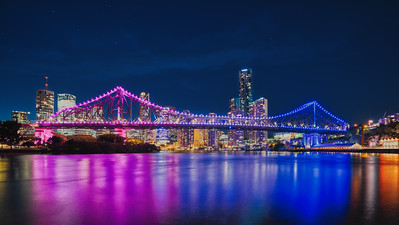 Brisbane Australia Skyline at Night