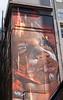 Aborigine child street art