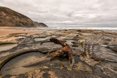 Wreck Beach, Great Ocean Road, Australia