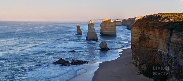 Australia, Melbourne, 12 Apostles, Panorama