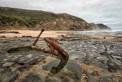 Anchors, Wreck Beach, Great Ocean Road, Australia