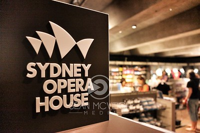 Sydney Opera House gift shop