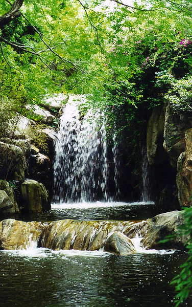 2000_Sydney_Garden_Waterfall