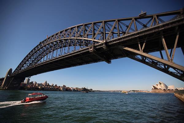 Sydney Harbour Bridge, Sydney Opera House, Sydney, Australia