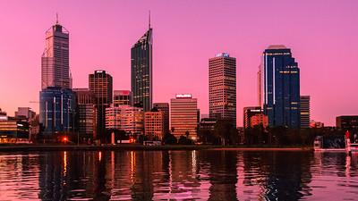 Perth at Dusk - Australia