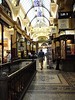 An elegant shopping arcade.  I didn't get pictures of the normal cheapo ones, of course.