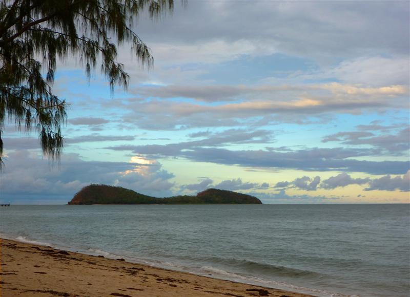 Double Island, off Clifton Beach.