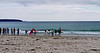 Pambula Beach.  This is a parochial high school gym class.  Surfing.  How cool is that?