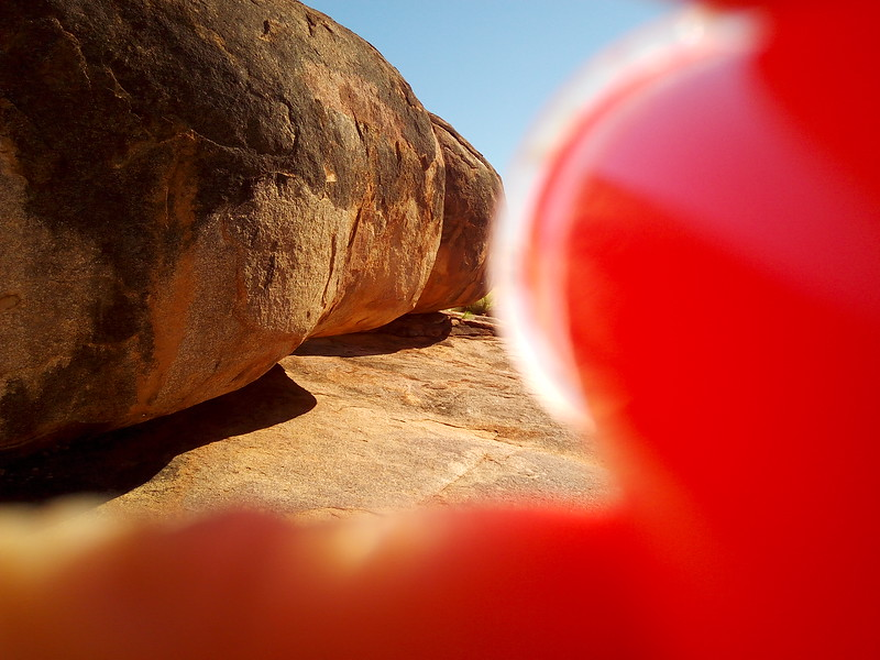 View of Stone Marbles (Devils Marbles, Northern Territory)