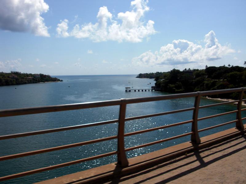 Bridge to Kalifi, where we dived for two days.<br /> Kalifi, Kenya