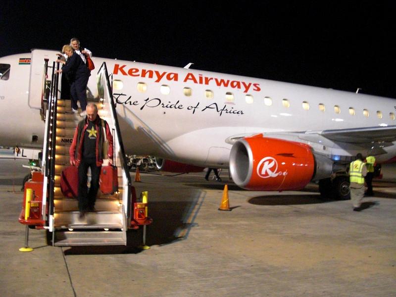 Los Angeles to Dubai = 15.5 hours.  Dubai to Nairobi = 4.5 hours. Nairobi to Mombasa = 1 hour.<br /> Finally, arriving in Mombasa, Kenya at midnight.  2 more hours overland, via mini-van, to Watamu.