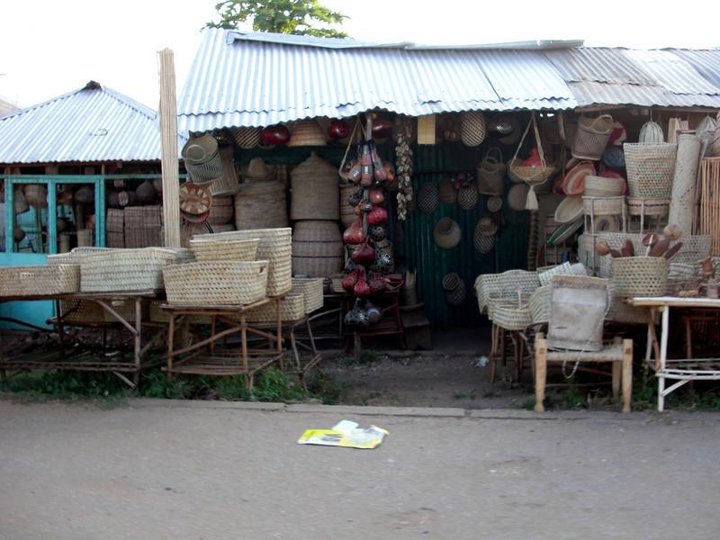 Woven-wares.<br /> Malindi, Kenya