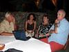 L-R: Lorenzo, Camella, Christiane & Angelo.<br /> Aquarius Beach Resort, Watamu, Kenya