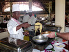 Most guests are Italian.  Thus, plentiful pasta is available.<br /> Aquarius Beach Resort, Watamu, Kenya
