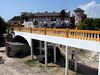 Walk bridge to new section of resort<br /> Watamu, Kenya