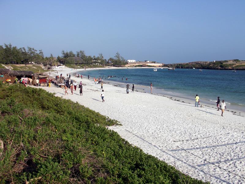 Watamu, Kenya is blessed with beautiful, scenic, white beaches.