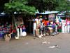 Plasticware vendors.<br /> Malindi, Kenya