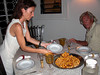 Fantastic dinner, served up by Camella.<br /> Malindi, Kenya.