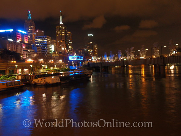 Melbourne - City at night