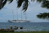 Huahine - Star Flyer from shore