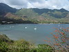 Marquesas - Nuku Hiva -Taiohae - View from Pearl Lodge