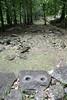 Marquesas - Nuku Hiva - Kamuihei archaeological site - Grinding Stones