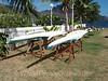 Marquesas - Nuku Hiva -Taiohae - Sea Kayaks