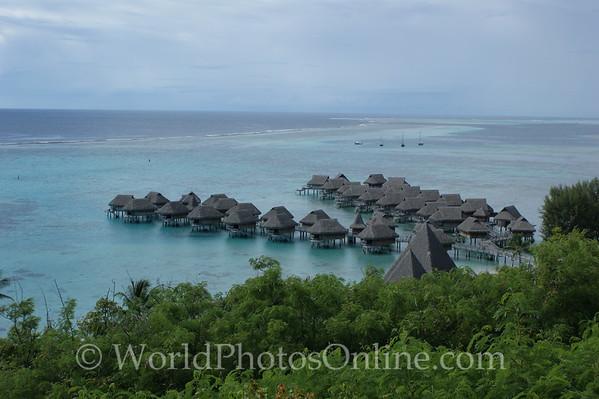 Moorea - Sofitel Resort - Ocean Bungalows