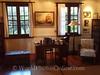 Tahiti - Arue - James Norman Hall's House (Author - Mutiny on Bounty) - Writing Desk