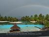 Tahiti - Rainbow from Intercontinental Hotel