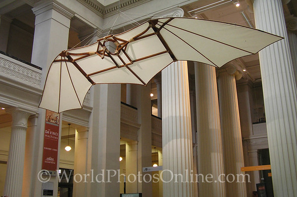 Aukland - Museum - DaVinci Flying Machine S