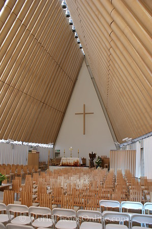 Christchurch - Cardboard Cathedral 2 - 2015