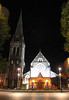 Christchurch - Cathedral at night S