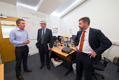 16/05/2017. Pictured at WIT ArcLabs where the Australian ambassador Richard Andrews visited. Pictured are Eric Robson WIT, David Watson, Senior Trade and Investment Commissioner and Australian ambassador Richard Andrews. Picture: Patrick Browne