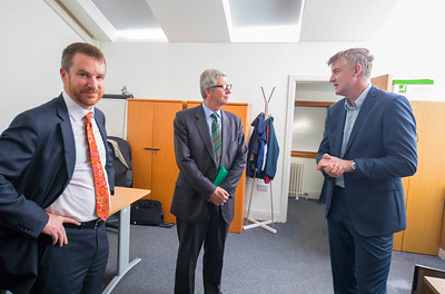 16/05/2017. Pictured at WIT ArcLabs where the Australian ambassador Richard Andrews visited. Picture: Patrick Browne