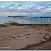 Ceduna Jetty at sunrise, South Australia.<br /> <br /> Photographed February 2012 - © 2012 Lesley Bray Photography - All Rights Reserved