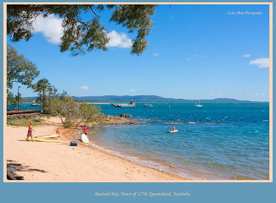 I really enjoyed this part of the trip as I have a lot of fond childhood memories of beach camping holidays near this area.  This is Bustard Bay, the town of 1770, Queensland, Australia.  Photographed August 2010 - © Lesley Bray Photography