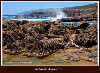 25/366 Indian Ocean at Cape Leeuwin, Augusta, Western Australia.  This is close to the exact spot where the Indian Ocean meets the Southern Ocean.  Photographed January 2012 - © Lesley Bray Photography - All Rights Reserved.