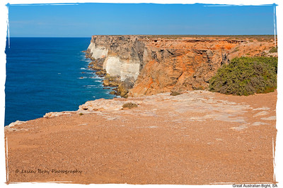Great Australian Bight, South Australia.  Photographed February 2012 - © 2012 Lesley Bray Photography - All Rights Reserved