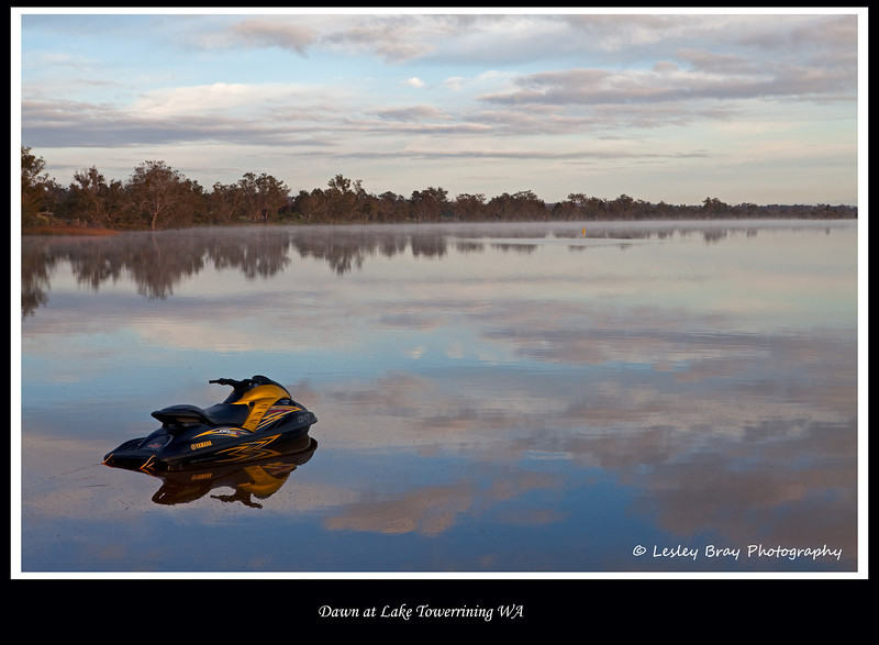 Dawn at Lake Towerrining, Western Australia