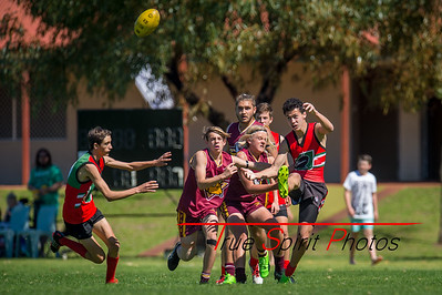 Preliminary_Final_N-C_Yr9_Red_Quinns Thunder_vs_Warwick_Greenwood_Knights_09 09 2018-11
